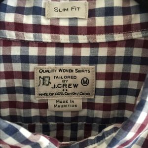 Men's Jcrew button down shirt M slim fit